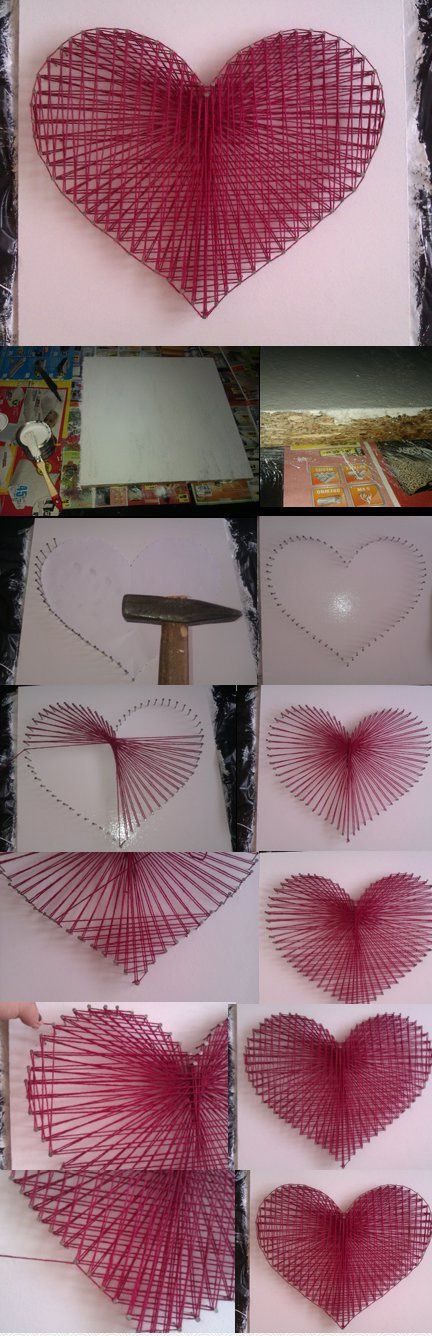 Creative String Art Canvases 2