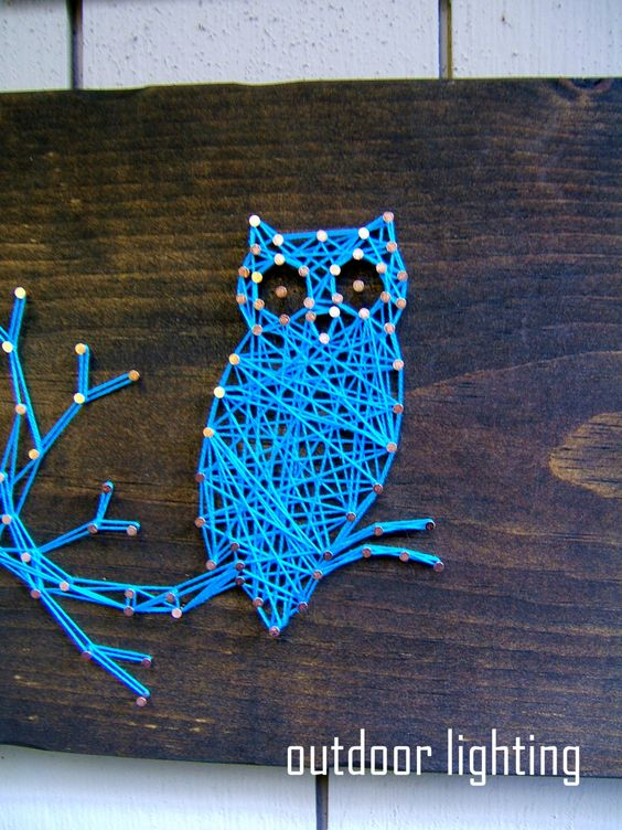 Creative String Art Canvases 5