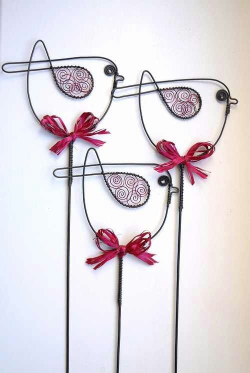Twisted Wire Sculptures 2