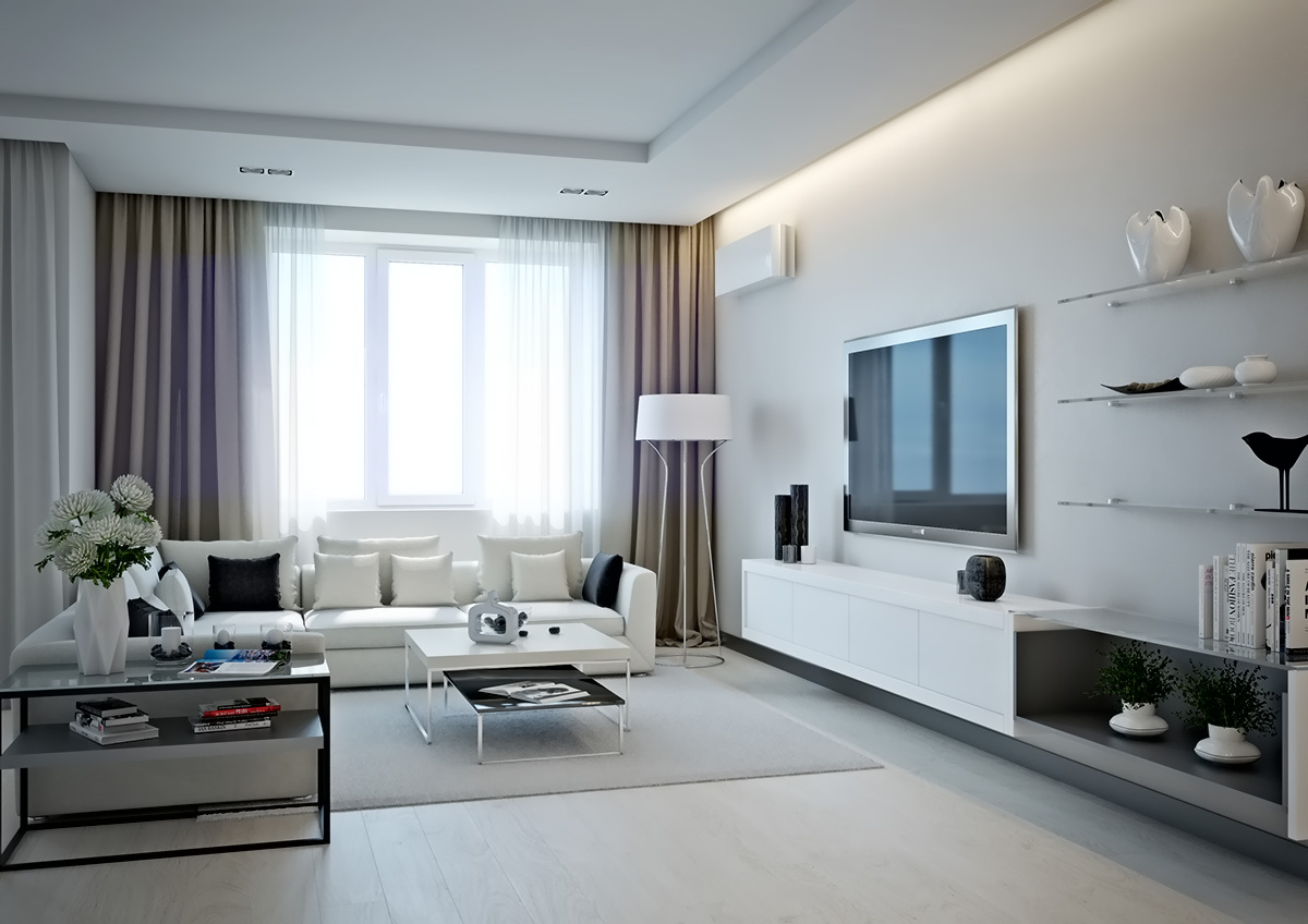white-and-cream-living-room