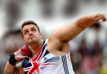 Aled Davies won gold in the shot set and plate finally year's IPC Athletics World Championships in Doha