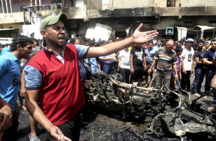 Baghdad Series of Bombing Killed Dozens of People