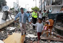 Ecuador hit by two earthquakes