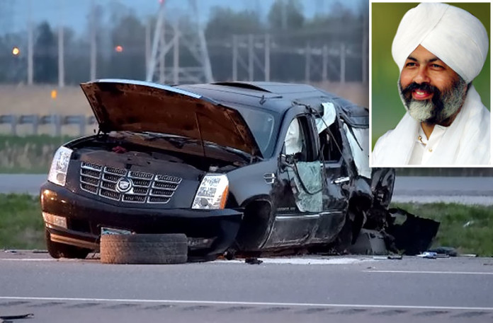 Baba Hardev Singh dies in Beauharnois car crash