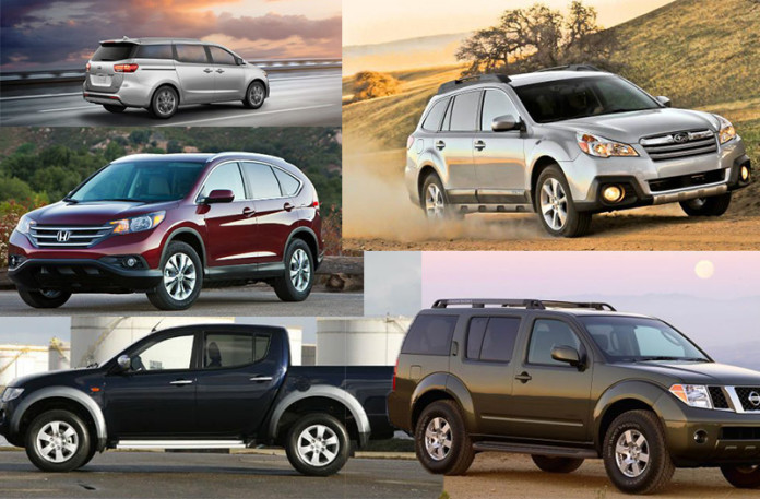 Perfect Family Cars for Summer Vacation 2016