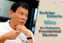 Wins the Philippine Presidential Election