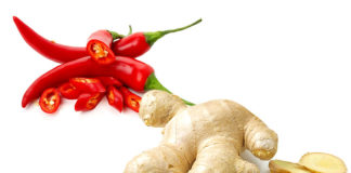 Prevent lung cancer, eat chilli with combination of ginger
