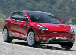 Elon Musk says that Tesla Model Y will be shown on the 14th March in his LA design studio